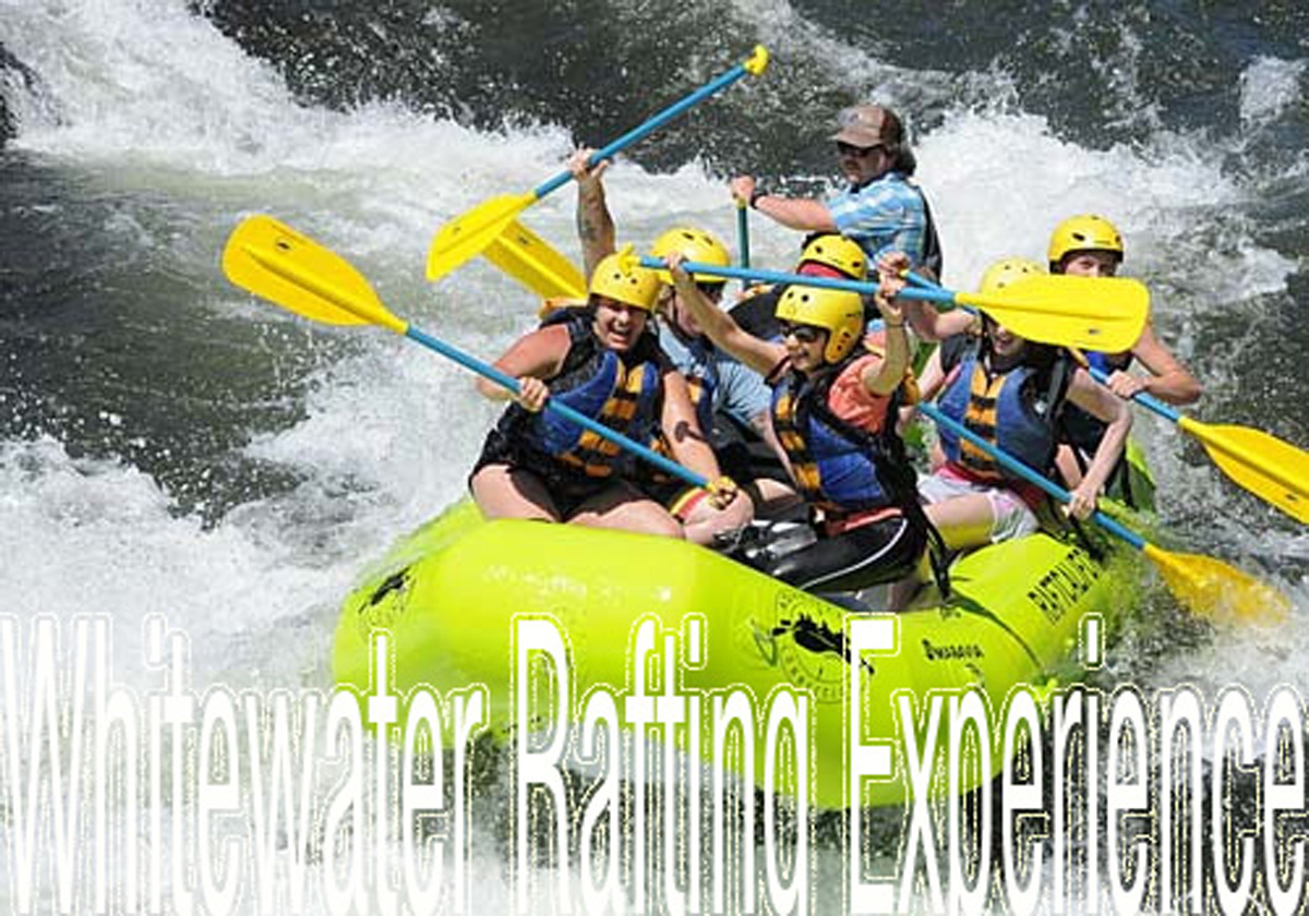 Have an Exciting Whitewater Rafting Experience!