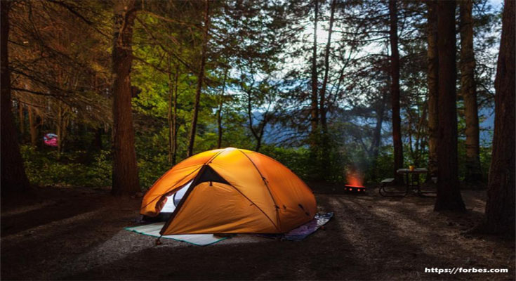 Slow Down Together - Go Camping